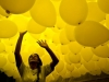 BRAZIL-NEW YEAR-CELEBRATION-BALLOONS