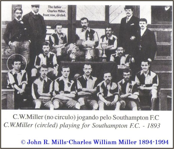 Charles Miller on Southampton FC