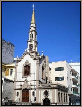 """A """"Igreja da Almas"""" como é conhecida a Igreja Santa Cruz dos enforcados."""