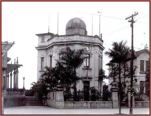 O Observatório da Avenida, casa do Dr. José Nunes Belfort de Mattos, ao lado do Boulevard Trianon (MASP) na Av.Paulista