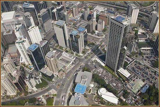 Helipontos são uma grande oferta principalmente nos edifícios de grandes organizações, hospitais, universidades...