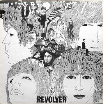 Capa do album Revolver premiada feita por Klaus Voormann