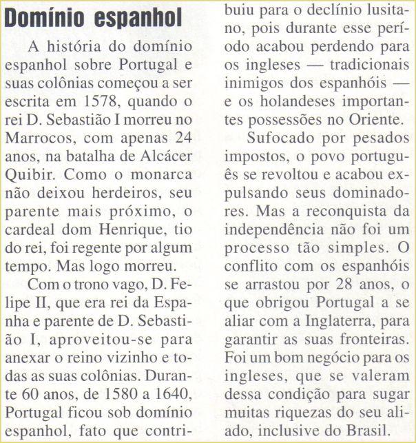 A anatomia do domínio espanhol que quase consegue ter um estado brasileiro como seu protetorado.