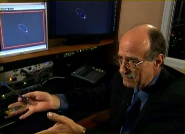 Claudeir Covo numa de suas aparições, sempre dando análises criteriosas sobre o fenômeno UFO.
