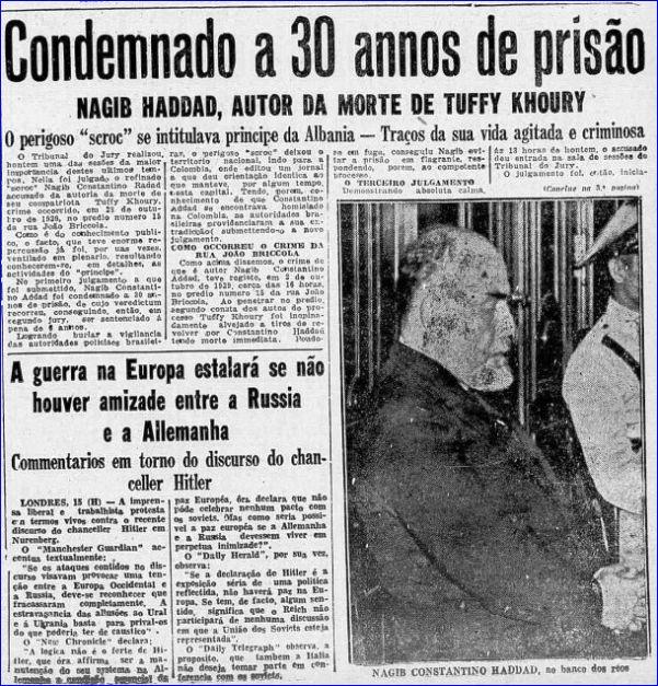 Correio de São Paulo 14 de Setembro 1936