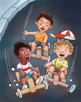A brincadeira numa ilustração de Emídio Batista Almeida Filho